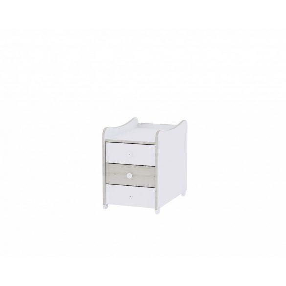 Lorelli Maxi Plus kombi postieľka  70x160 - White/ Light Oak 2019