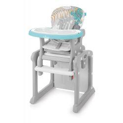 Baby Design Candy 2v1 Multifunkčná jedálenská stolička - 05 Turquoise 2019