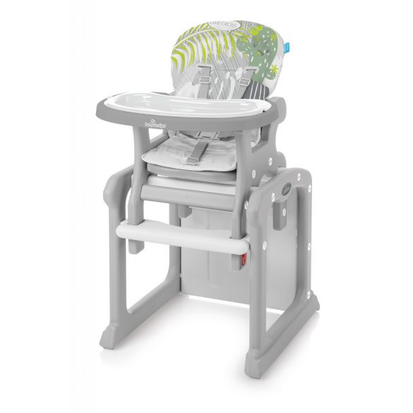 Baby Design Candy 2v1 Multifunkčná jedálenská stolička - 07 Gray 2019