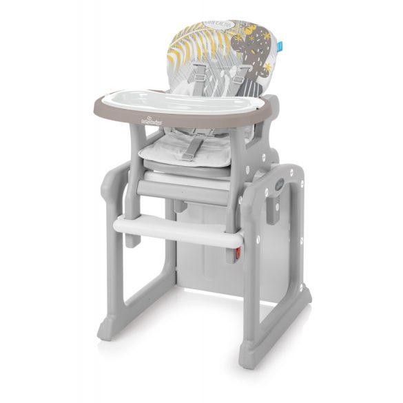 Baby Design Candy 2v1 Multifunkčná jedálenská stolička - 09 Beige 2019