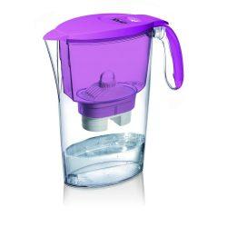 Laica Clear Line fialová filtračná kanvica (1 Bi-Flux s univerzálnou vložkou filtra)