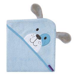 Clevamama detská osuška bambusová modrá pes