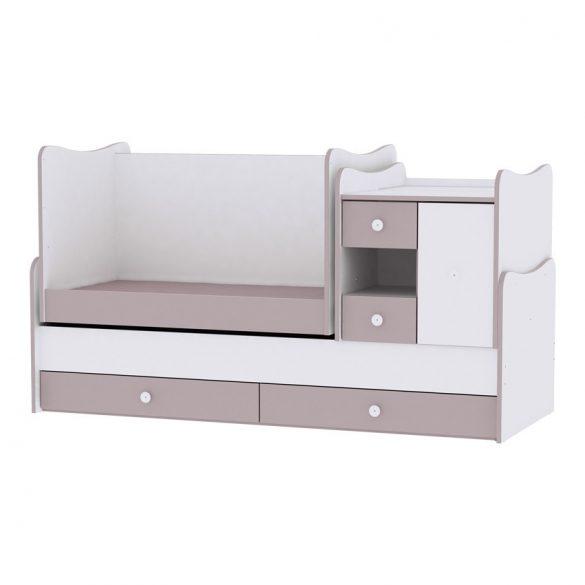 Lorelli MiniMax kombi postieľka 72x190 - White & Artwood