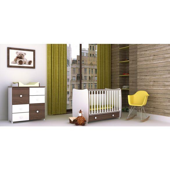 Lorelli Dream variabilná, hojdacia postieľka 60x120 - White & Artwood