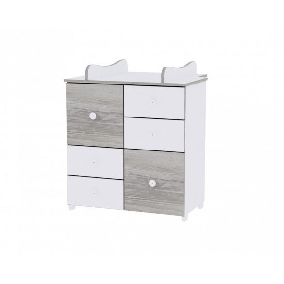 Lorelli Cupboard prebaľovací pult - White & Artwood
