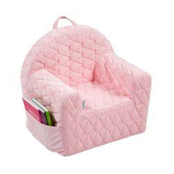 Albero Mio Velvet Kids detské kresielko - V101 Pink