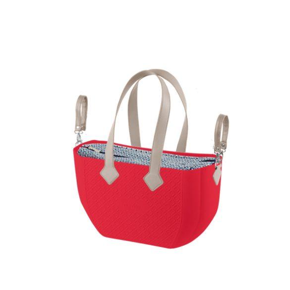 Nuvita myMIA prebaľovacia taška - Crimson Optical Grey  !! Výpredaj !!