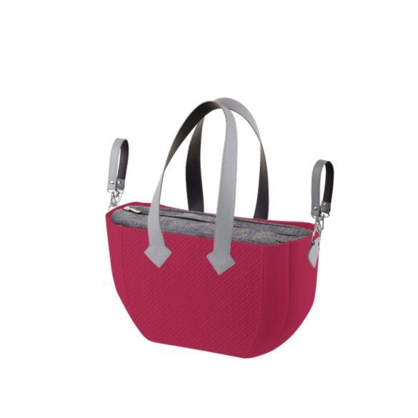 Nuvita myMIA prebaľovacia taška - Raspberry Grey   !! VÝPREDAJ !!