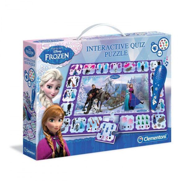 Clementoni Disney interaktív puzzle (35ks) - Frozen