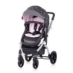 Chipolino Malta 2v1 kombinovaný kočík - Baby Pink 2020