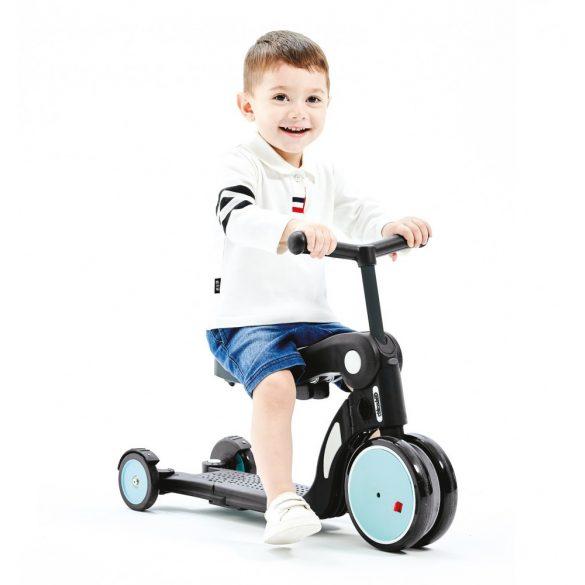Chipolino Kid's toy 4 in 1 kolobežka - Sky 2020