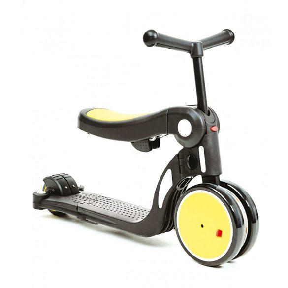 Chipolino Kid's toy 4 in 1 kolobežka - Yellow 2020
