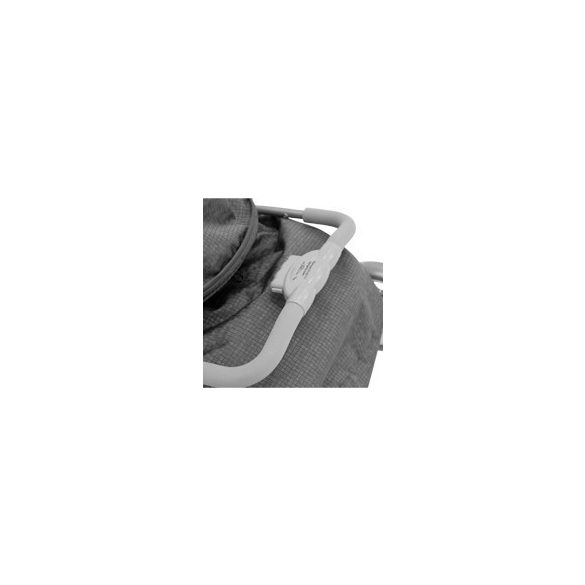 Lorelli Ines športový kočík  - Grey&Black Cross 2020