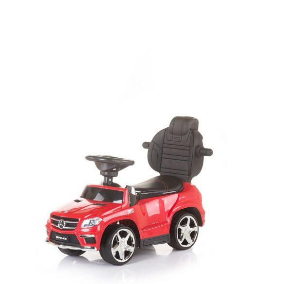 Chipolino Mercedes Benz GL63 AMG detské autíčko so strieškou a s vodiacou tyčou - black