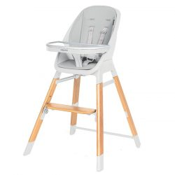 Espiro Sense 4 v1 jedálenská stolička - 27 White Gray 2020