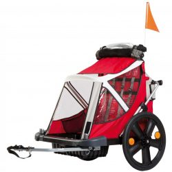 Bellelli B-Travel vozík na bicykel do 32kg - Red