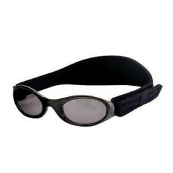 BabyBanz slnečné okuliare Onyx/Black 0-2 rokov