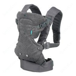 Infantino Flip Advanced 4in1 Convertibile nosič - šedý