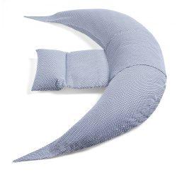 Nuvita Dreamwizard dojčiaci vankúš a vankúš pre MAMičky - Blu Bianco - 7100