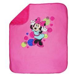Asti Disney Minnie wellsoft podšitá deka  (70x90)  ružová  70*90