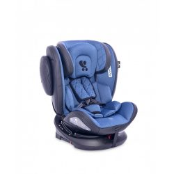 Lorelli Aviator SPS isofix autosedačka  0-36kg - Black&Blue 2021