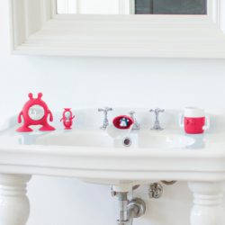 Prince Lionheart Eyefamily set do kúpelne - fuxia