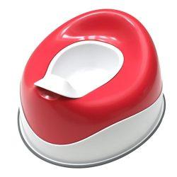 Prince Lionheart pottyPOD SQUISH prenosný nočník s polstrovaným sedadlomi - Flashbulb Fuchsia