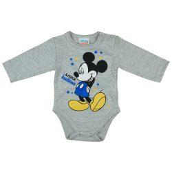 Asti Disney Mickey body s dlhým rukávom - melírované 50