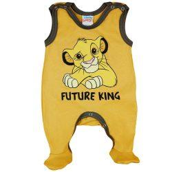 Asti Disney The Lion King dupačky bez rukávov žlté 68