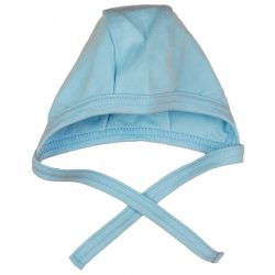 Asti novorodenecká čiapka so zaviazaním  56 - modrá