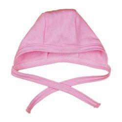 Asti novorodenecká čiapka so zaviazaním  56 - ružová