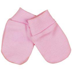 Asti novorodenecké rukavičky - ružové
