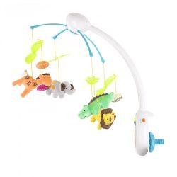 Chipolino hudobný kolotoč s diaľkovým ovládaním - Zoo