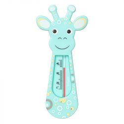 BabyOno teplomer do vody - modrá žirafa 776/01
