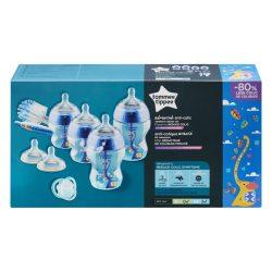 Tommee Tippee Advanced Anti-colic  sada dojčenských fľašiek - modrý (8ks)