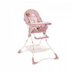 Lorelli Bonbon jedálenská stolička - Beige Rose Rabbits 2021