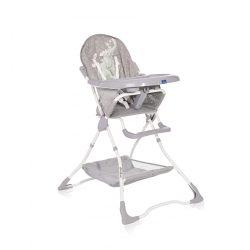 Lorelli Bonbon jedálenská stolička - Grey Fun 2021