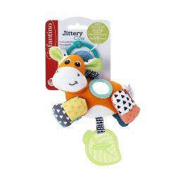 Infantino závesná vibrujúca hračka - kravička