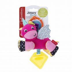 Infantino závesná vibrujúca hračka - jednorožec