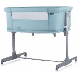 Chipolino Mommy 'n Me postieľka k posteli - Blue Mint 2020