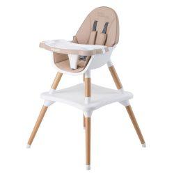Chipolino Classy 3in1 jedálenská stolička - Latte