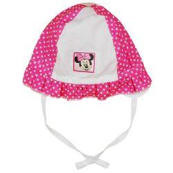 Asti Disney Minnie Dievčenská letná čiapka biela - ružová bodkovaná, veľ. 56