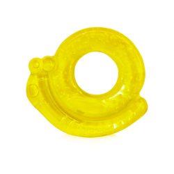 Baby Care Chladiace hryzátko - Slimáčik žltý