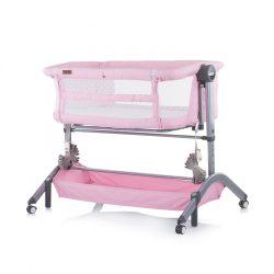 Chipolino Amore Mio postieľka k posteli - Peony pink