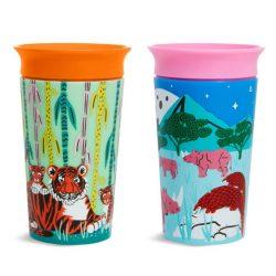 Munchkin 2ks Miracle 360 pohár 266ml - Wild Love Rhino/Tiger