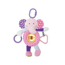 Lorelli Toys plyšová hračka - Ružový sloník